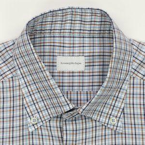 Ermenegildo Zegna Dress Shirt Multi-Color 16.5X36